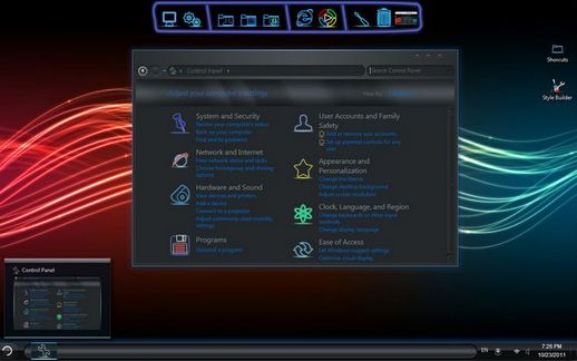 Download Dark Neon Skin Pack Theme for Windows XP and ...