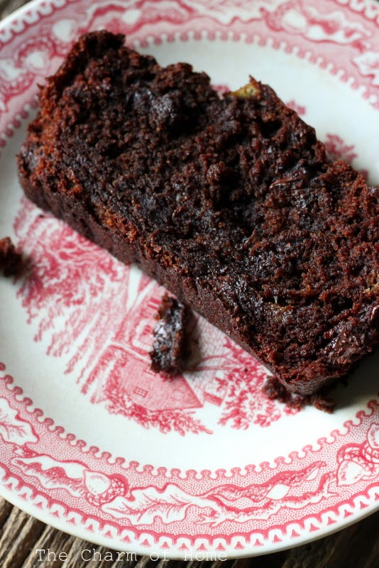 Double Chocolate Chunk Banana Bread