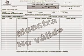 Formato de Recolección de Firmas MSBColombia