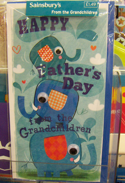 sainsburys father's day mug