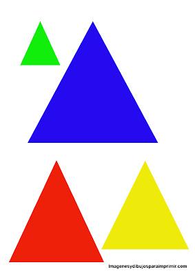 Dibujos de triangulos para imprimir
