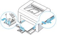 guias de bandeja de impresora