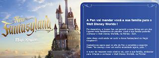"""Promoção """"A JP Leva Você e Sua Família Para o Walt Disney World"""