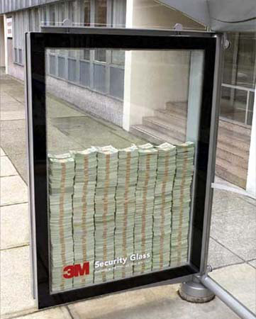 3M Window Advertisement