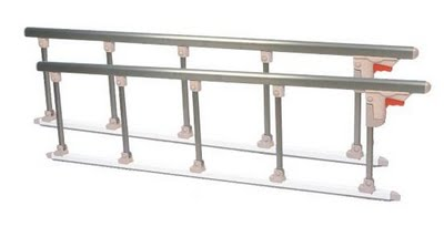 7. Aluminium collapsible side rails 鋁合金護欄