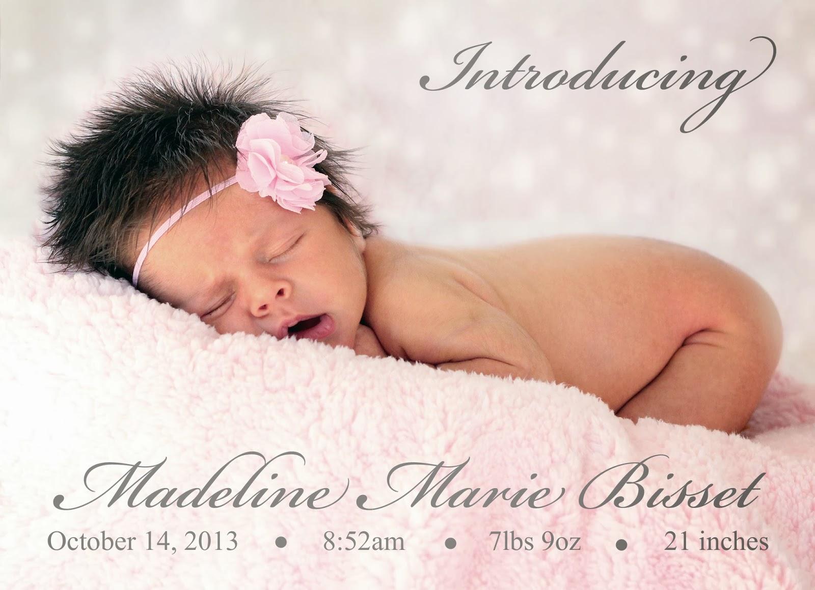 Katie Bertoli Photography Birth Announcement Examples – Birth Announcement Examples