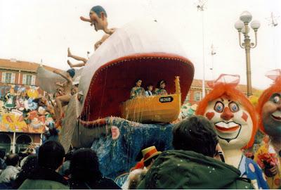Nice France Carnival