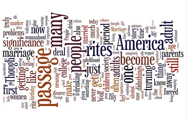 Rite of passage essay examples
