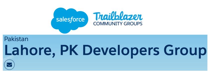 Salesforce Lahore Pakistan Developers Group