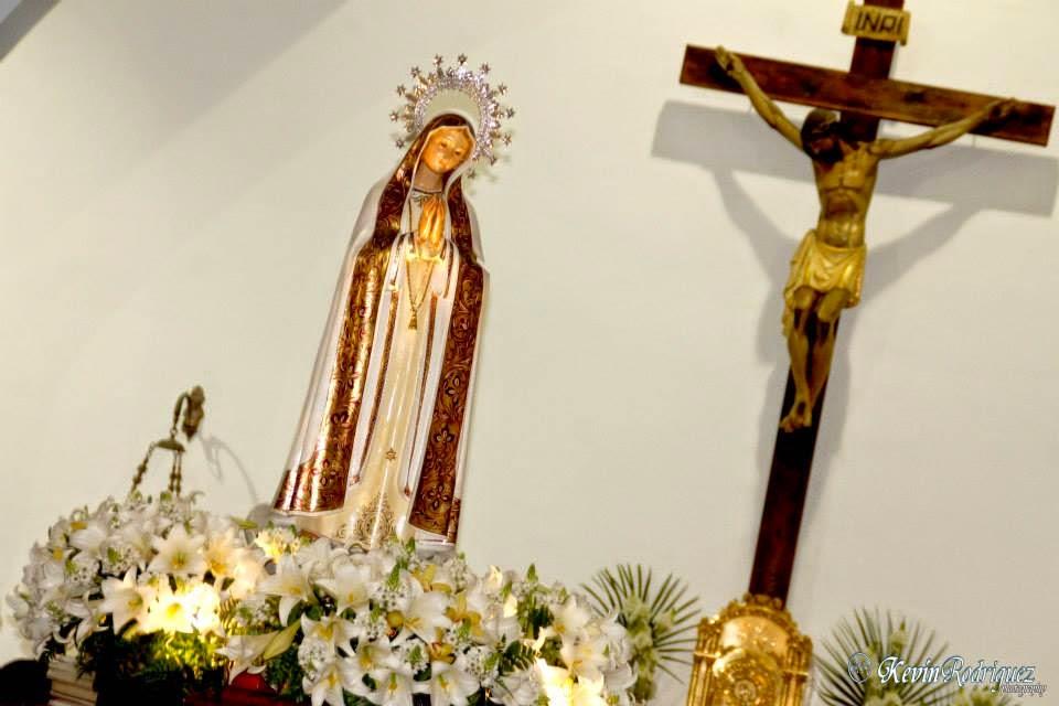 Cortes de Calles con motivo de la Peregrinación de la  Virgen de Fátima. Pincha en la foto