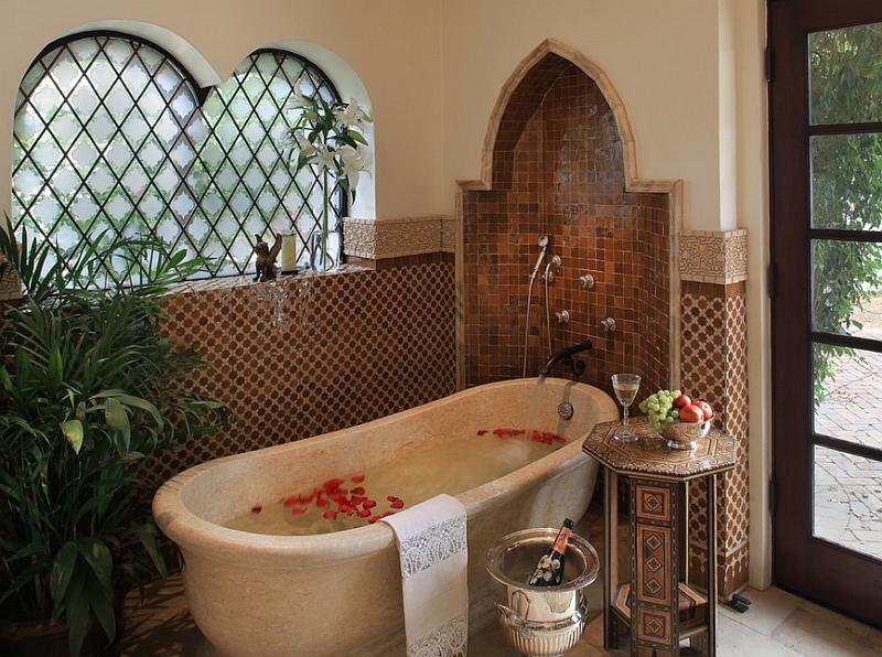 Salle De Bain Marocaine Contemporaine : salles de bains marocaines