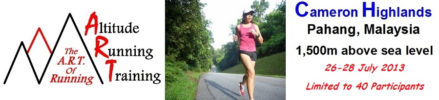 Altitude Running Training - The A.R.T. of Running