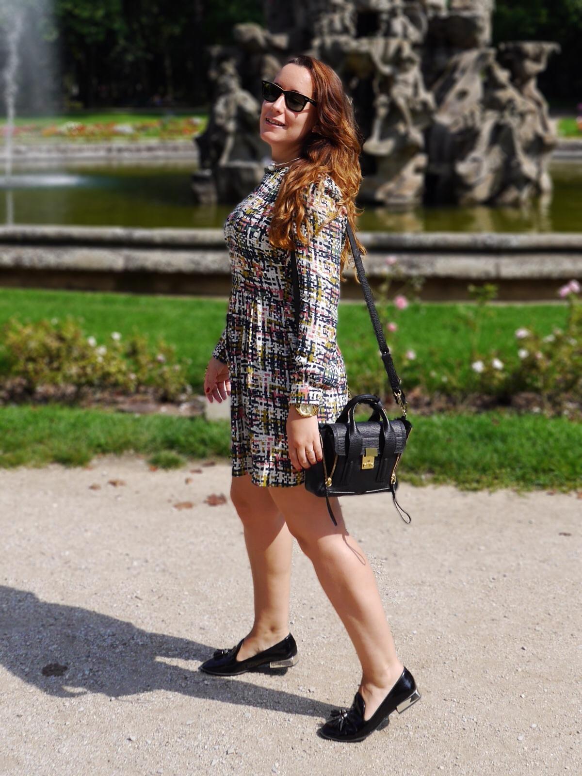 Street Style, De mayor quiero ser egoblogger, Zara dress, 3.1 Phillip Lim, Zara slippers, egoblogger, fashion blogger