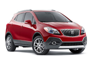 Buick Encore Sport Touring (2016) Front Side