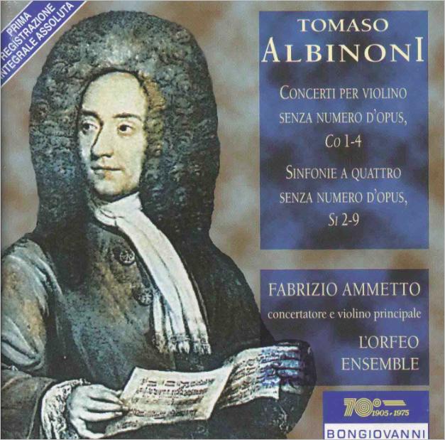 Tomaso Albinoni Albinoni ‧ I Musici Zwei Oboenkonzerte ‧ Concerto A Quattro ‧ Concerto Grosso