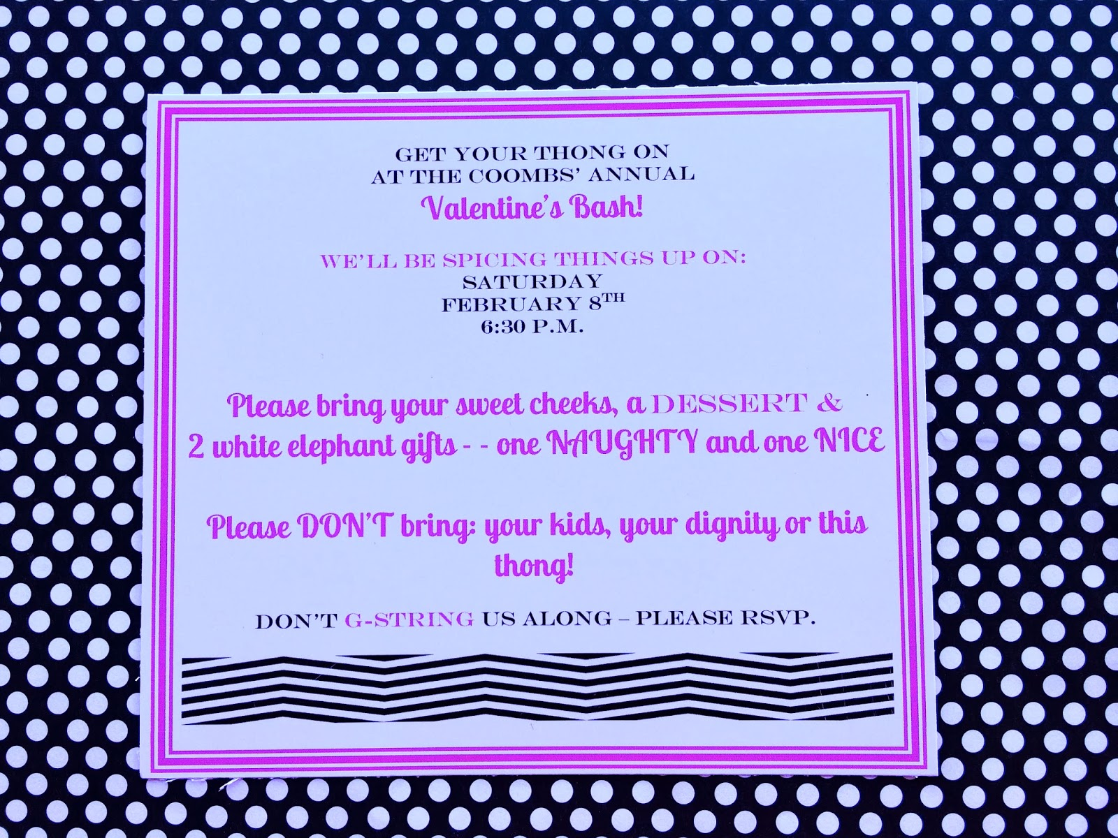 Marci Coombs: Valentine Party Invitation.