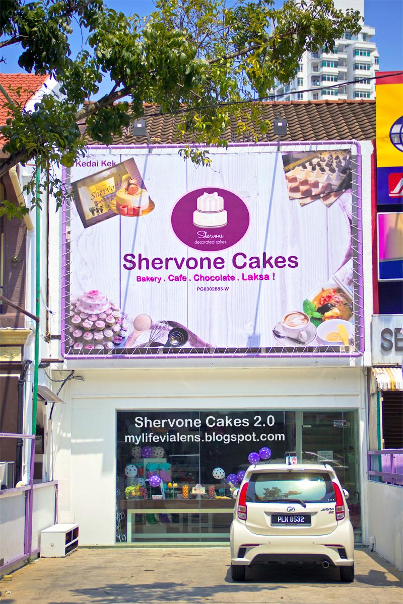 Shervone Cakes 2.0 Cafe at Pulau Tikus Penang