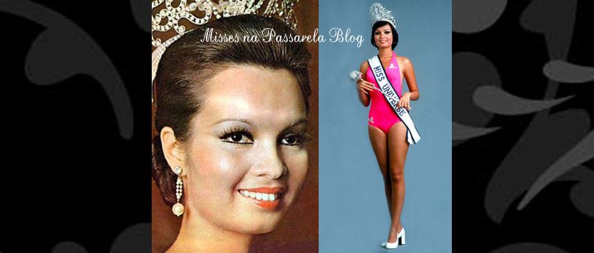 MISS UNIVERSO 1973 - MARIA MARGARITA MORAN ROXAS