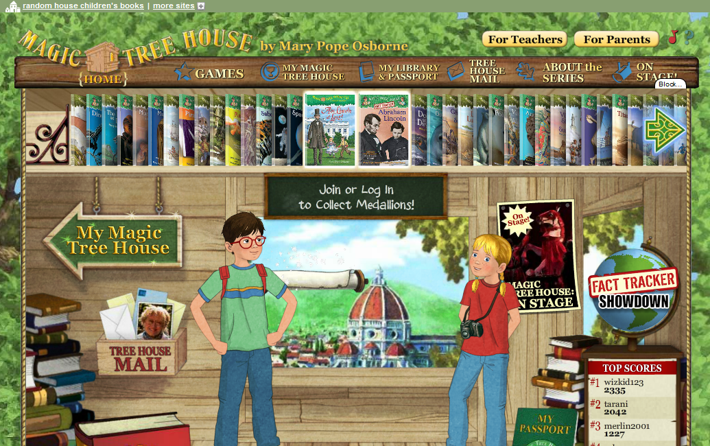 Magic Tree House Com Pictures to Pin on Pinterest  PinsDaddy