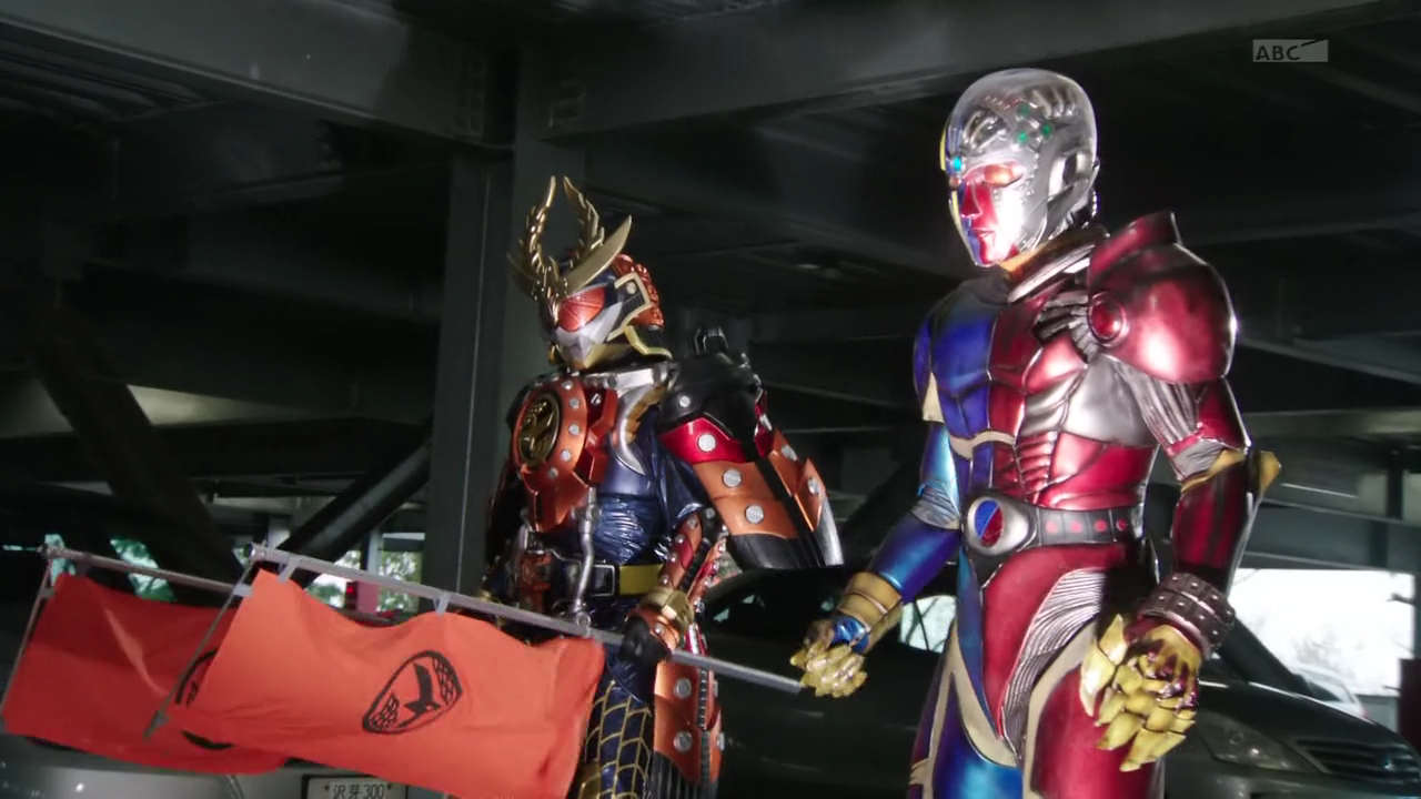 A special episode to promote the Kikaider REBOOT movie