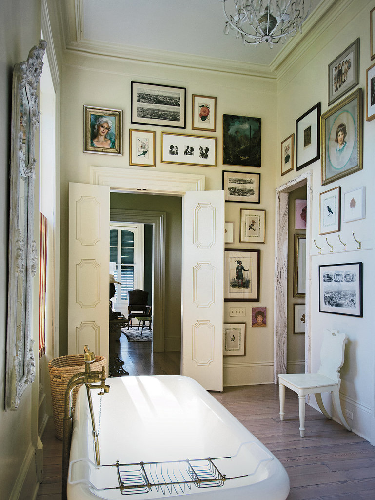 Decor inspiration costello family in new orleans cool for Bathroom new orleans