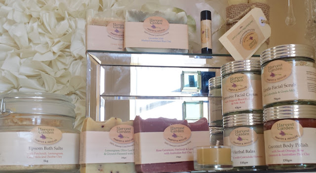 HARVEST GARDEN - AUSTRALIAN NATURAL HAND MADE SKINCARE FACE AND BODY REVIEW