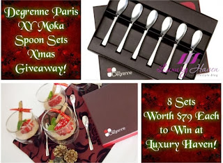 Degrenne Paris Moka Spoon Sets Giveaway!