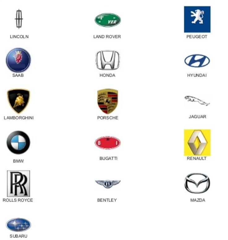 Car Logo Quiz Level 4 images