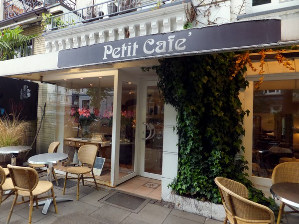 Hambourg Allemagne Eppendorf salon de thé petit cafe café