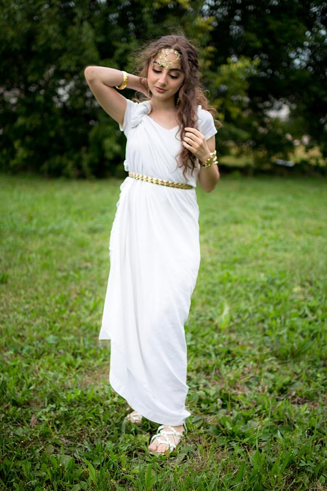 Absolutely Aya Sellami Diy Greek Goddess Costume