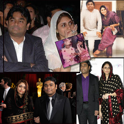 A.R.Rahman Family Photos