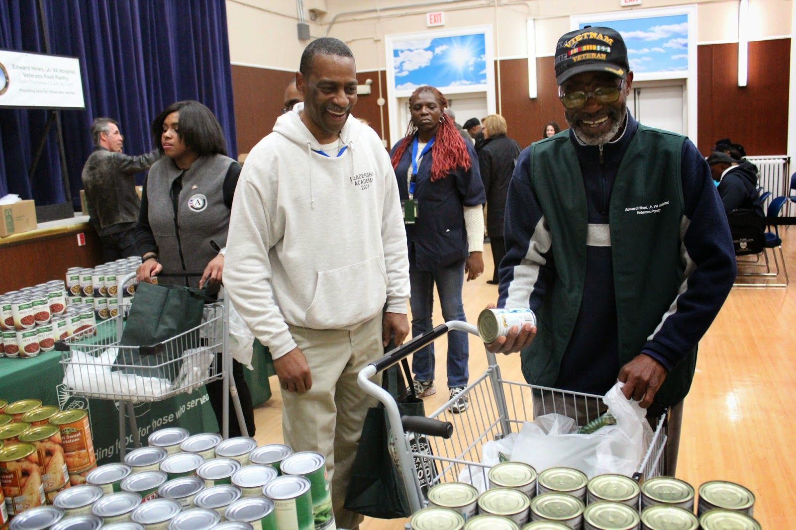 Food Depository teams with Hines VA AmeriCorps to open veterans