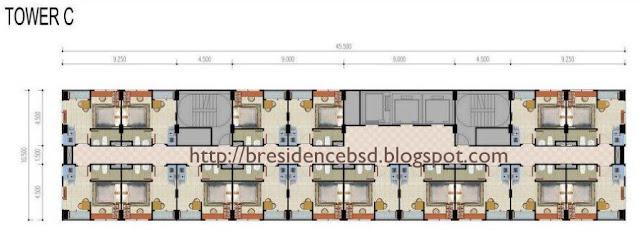 Tower C Apartemen B Residence BSD