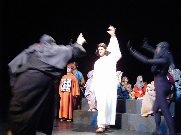 "Bridget Sent These Two Photos Of DMTC's ""Jesus Christ, Superstar"" From 2004"