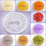 Acrylic Crystal Round Shape 6mm