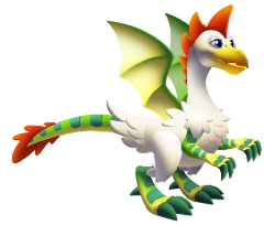 imagen del dragon pollo de dragon city