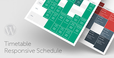 Download Timetable Responsive Schedule v3.3 Wordpress Plugin