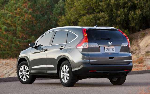 2012 Honda CR-V wallpaper rear side view