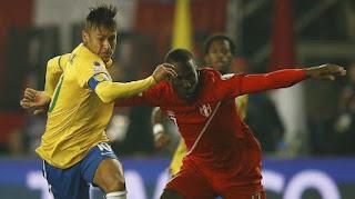 Brasil vs Perú en Eliminatoria del Mundial de Rusia 2018