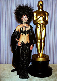 Cher at the 1986 Academy Awards
