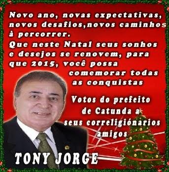 Prefeito Tony Jorge - Catunda Ceará