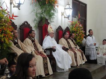 A diocese de Gba tem 4 Novos Sacerdotes