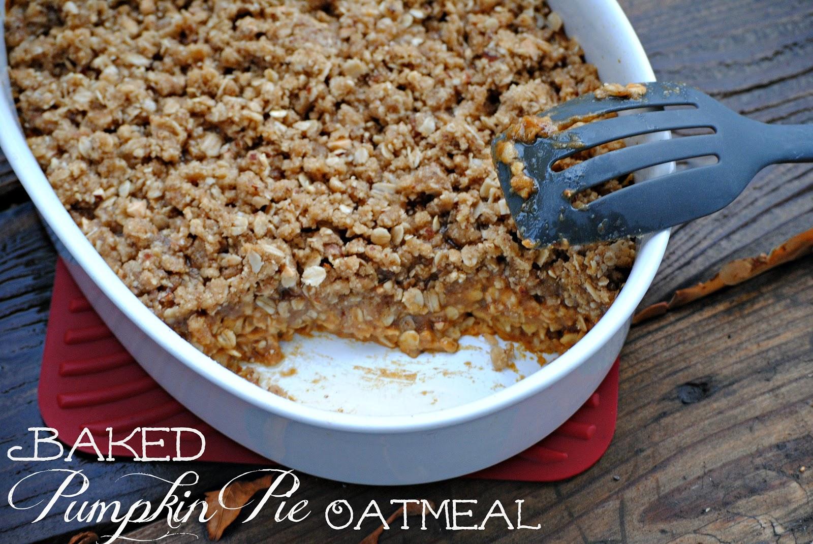 The Farm Girl Recipes: Baked Pumpkin Oatmeal