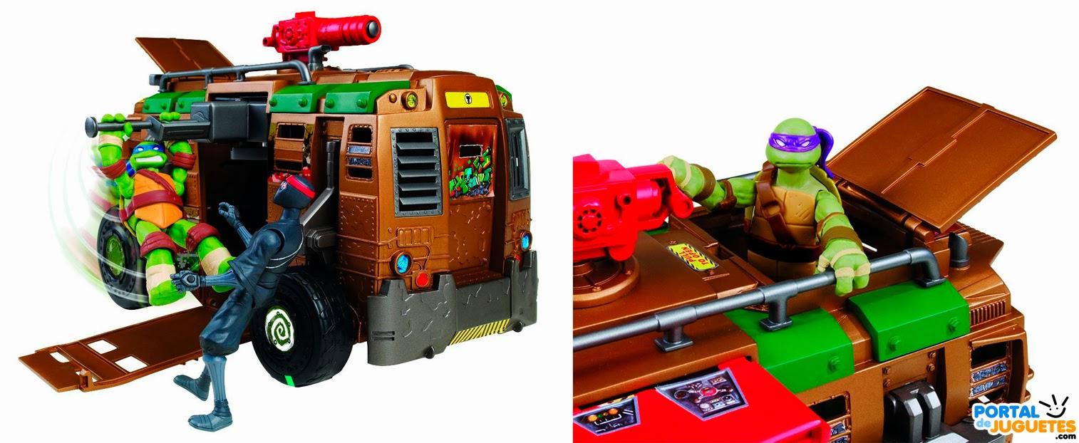 autocaravana shell raiser tortugas ninja detalle