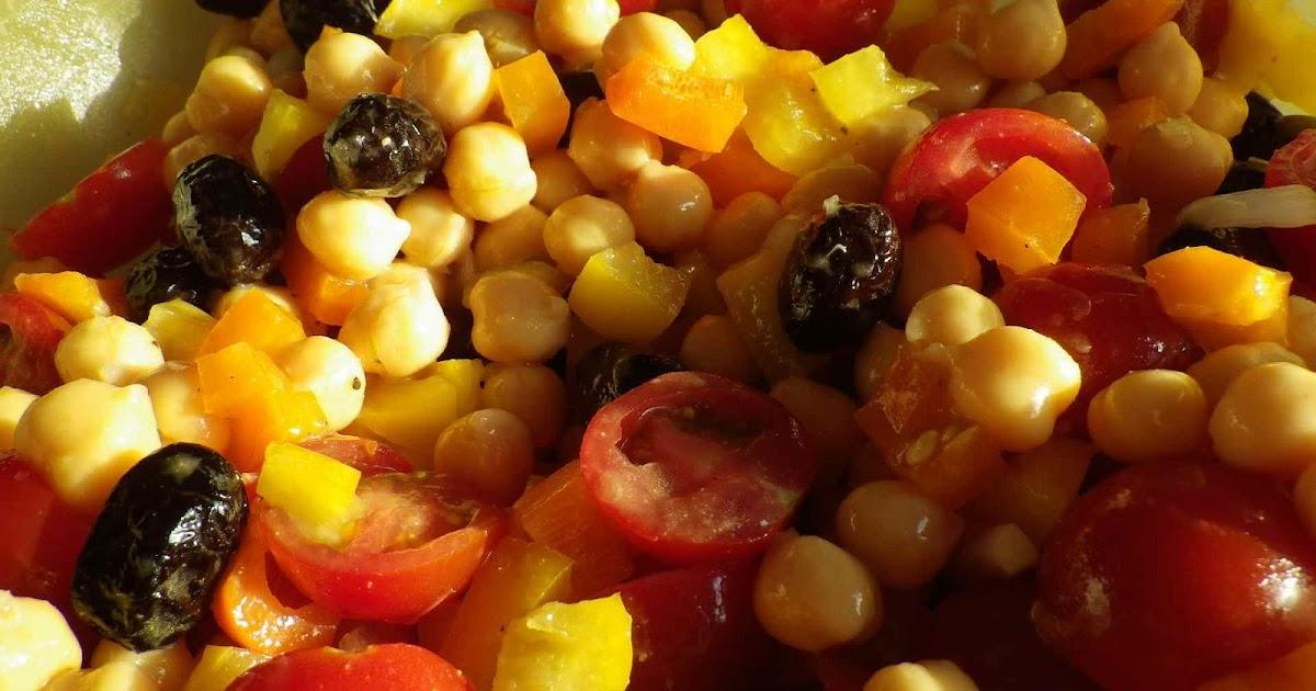 Ces petites choses qui changent la vie salade cubaine aux - Cuisiner des pois chiches ...
