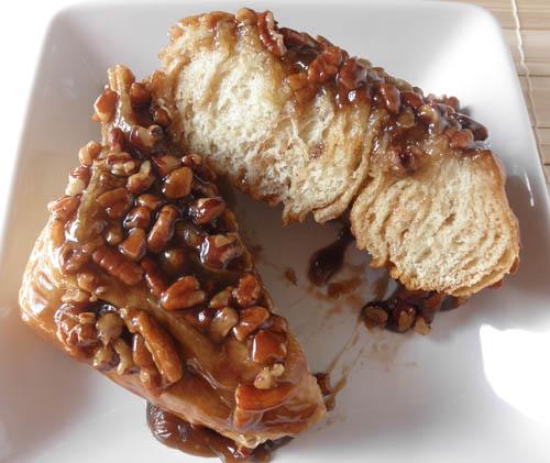 Food Pusher: Cinnamon Pecan Sticky Buns