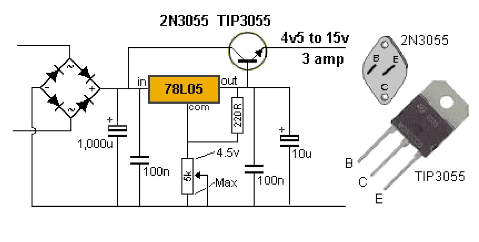 Импульсные блоки питания на двух транзисторах схема