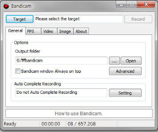 Download Bandicam 1.9.2.455 Multilanguage Including Crack