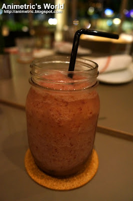 Grapes n' Ginger Shake at Cue Modern Barbecue