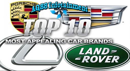 JD Power APEAL (Automotive Performance, Execution and Layout) telah merilis penelitian tentang merek-merek mobil yang menarik untuk dimiliki dan dikendarai.